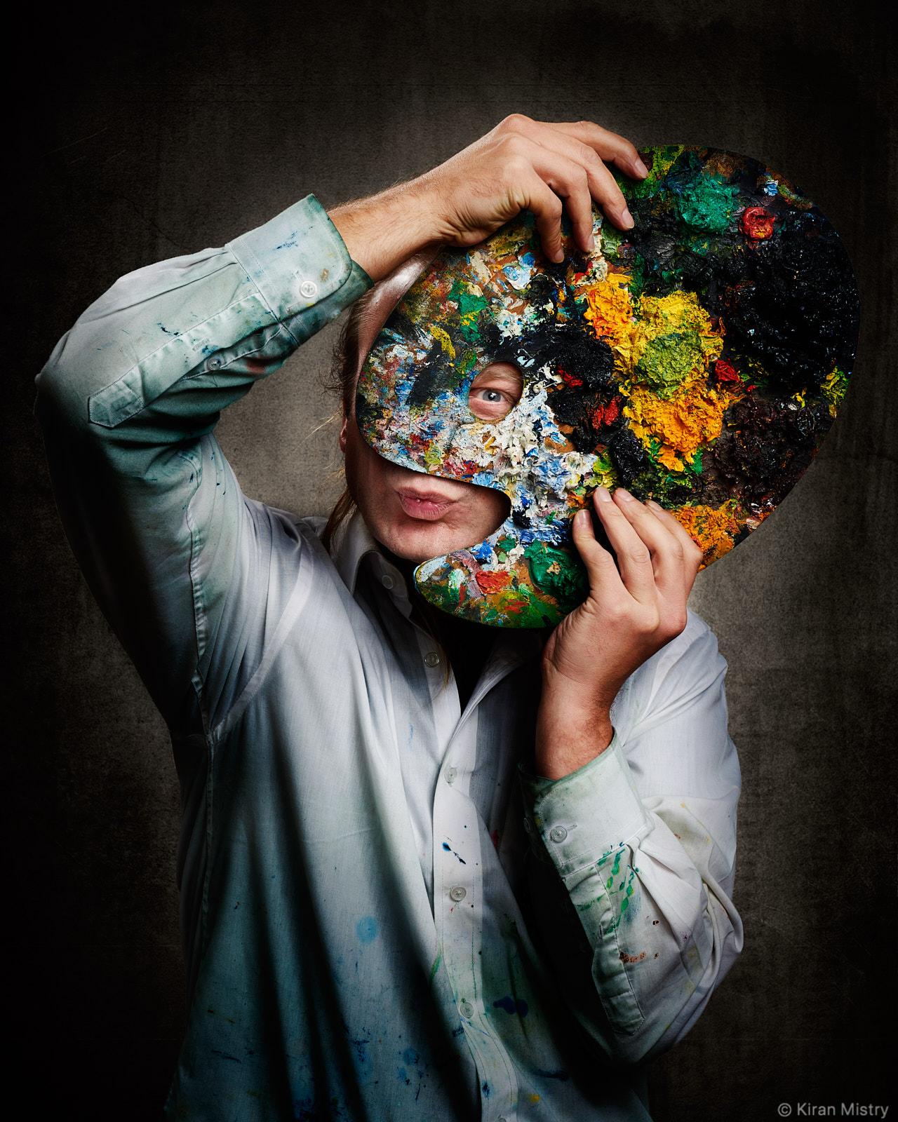 Artist Hugh Winterbottom