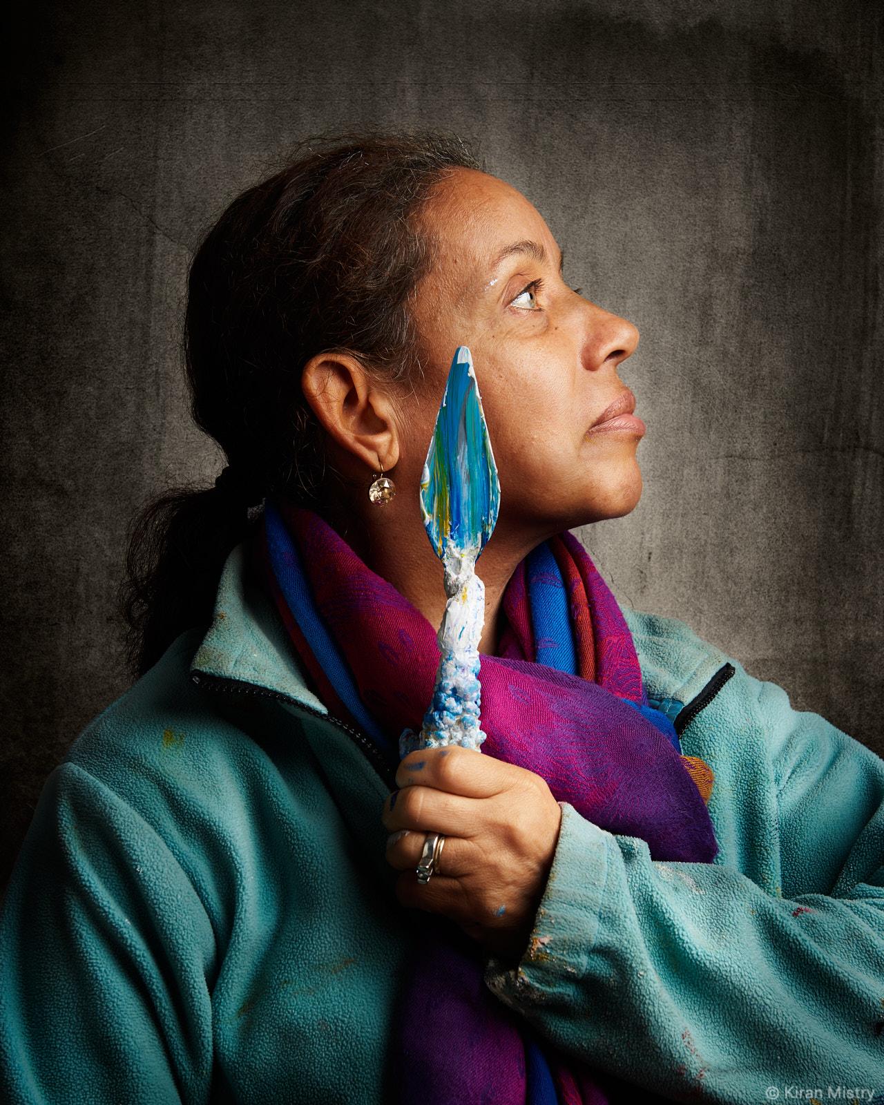 Portrait artist Susan Aggarwal